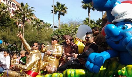 El de Almería capital está compuesto por desfile, concurso, noche, infantil y carrusel