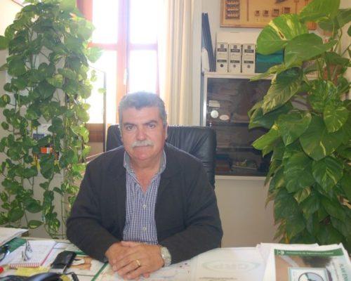 José Romera, concejal de Agricultura