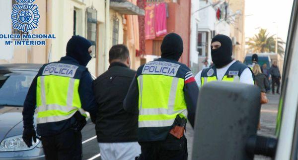 Detención Policía