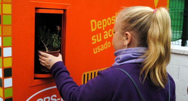 Almería implica a la comunidad educativa en la reducción y reciclaje de la basura doméstica