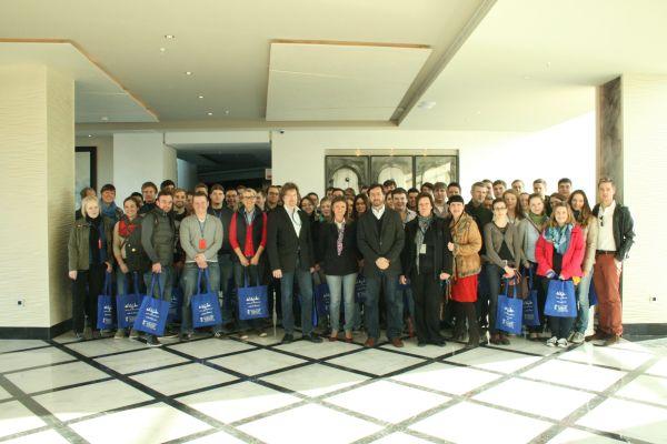Universitarios alemanes en El Ejido