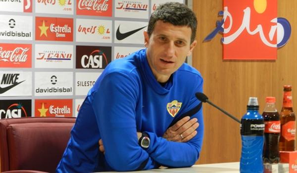 En entrenador del Almería sabe que su equipo está en un buen momento en esta Liga Adelante