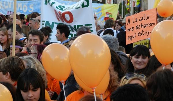 En Almería hubo 5.000 personas en la calle el 23F