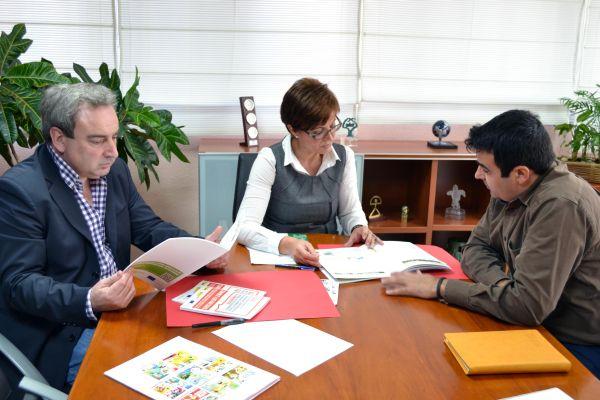 Martínez, Valverde y Góngora_reunión con Empleo 180213