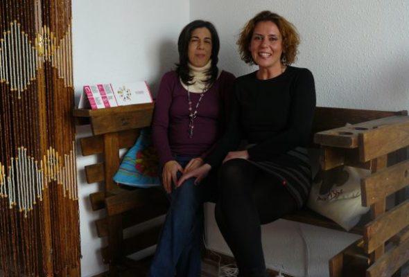 Paloma Molina y Natalia Ronco