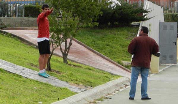 El lateral del Almería ha pasado varias veces por la enfermería rojiblanca
