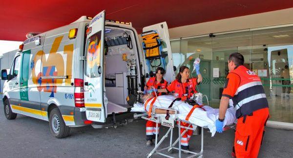 El 061 gestiona en Almería más de un millar de avisos por accidente de tráfico este año