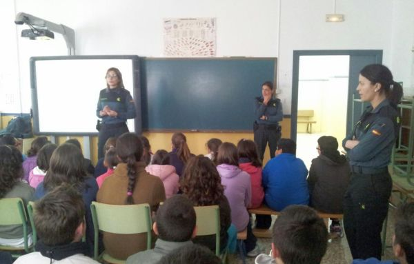CHARLAS Guardia Civil