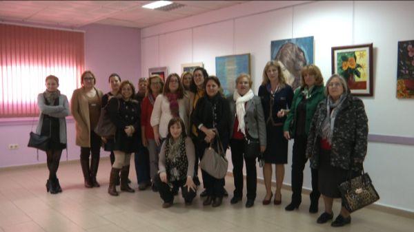Exposicion de mujeres Roquetas