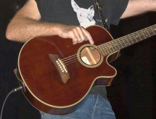 Guitarra recuperada