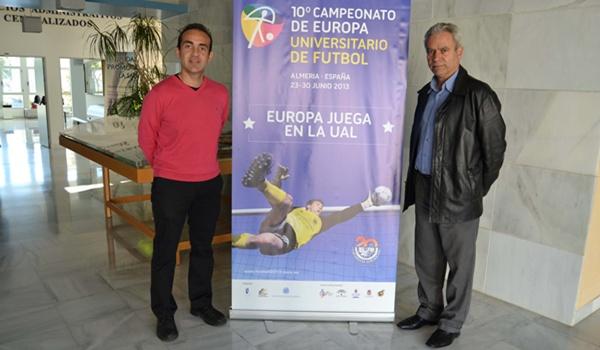 Universidad de Almería y Campeonato de Europa de Fútbol Universitario