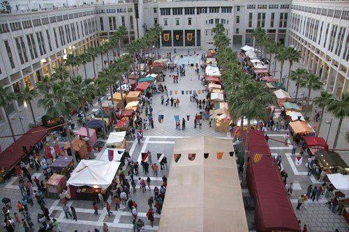 El ejido concentra en la plaza mayor la actividad - El ejido almeria ...