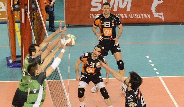 Unicaja Almería en la final de la Superliga de voleibol