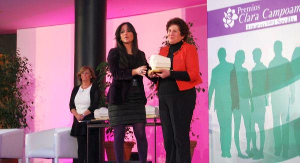 entrega premio Clara Campoamor