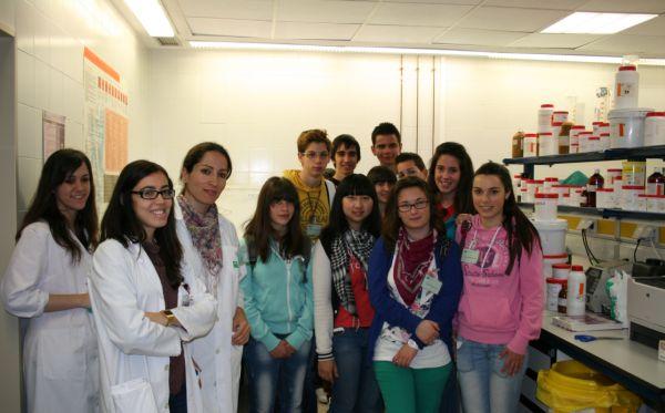 Visita alumnos Vélez Rubio
