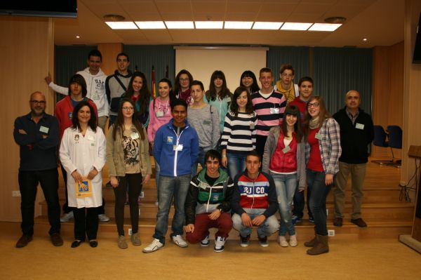 Visita alumnos Vélez Rubio hospital de Huércal Overa
