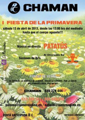 cartel I Fiesta de la Primavera