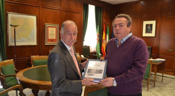 Alcalde Alhabia y Gabriel Amat