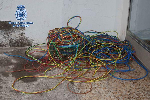 Cable recuperado