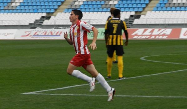 Jugador de la UD Almería B en Segunda División B