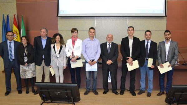 Premiados y conferenciante patrón Empresariales