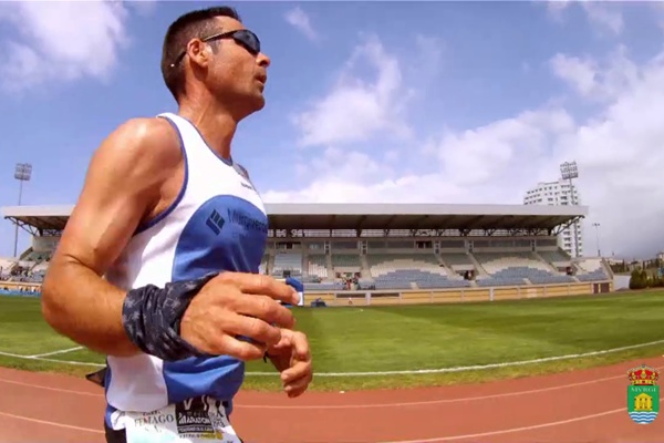 Prueba de Atletismo con victoria de un corredor de esta localidad de Almería