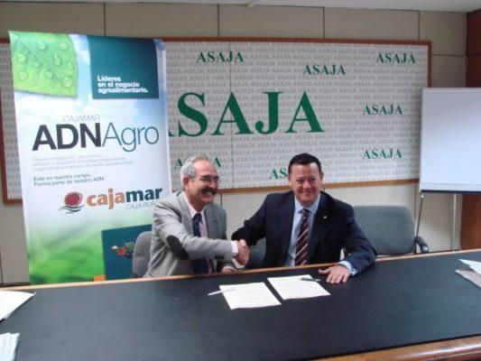 Acuerdo Asaja y Cajamar