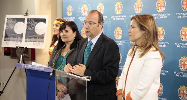 Alcalde presentacion Noche en Blanco