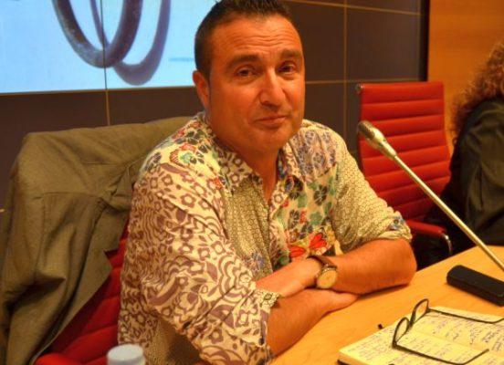 Carlos Marzal en el Aula Taurina de la UAL