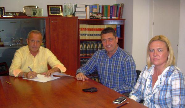 Firma acuerdo Huércal de Almería