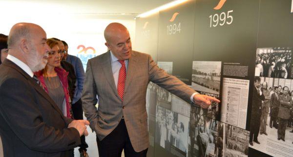 Inauguracion Expo 20 aniversario