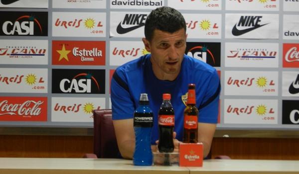 El entrenador del Almería busca el ascenso desde Liga Adelante a Liga BBVA