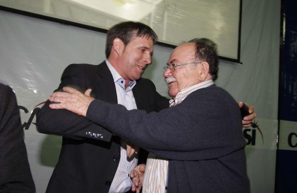 José María Andújar recibe felicitación