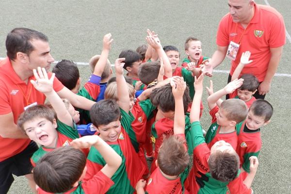 El equipo de Almería estuvo en la Baby World Cup de Estepona