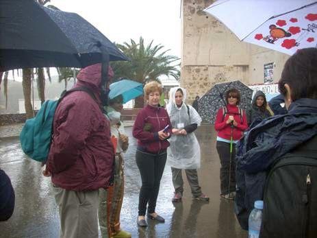 II etapa del Camino Mozárabe de Santiago en Almería