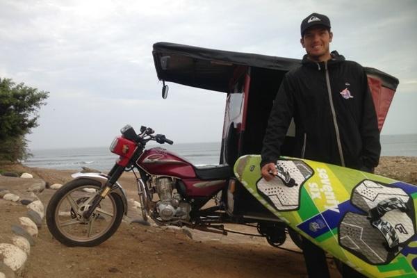 Campeón del Mundo de Windsurf en 2010 nacido en El Ejido (Almería)