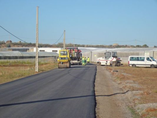 finaliza la remodelación del camino Cuesta Blanca