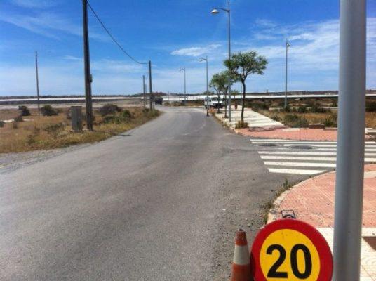 obras camino Cuesta Blanca