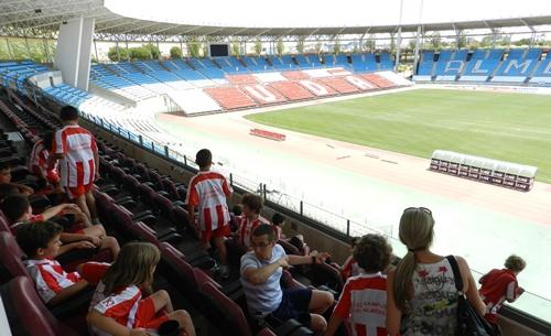 UD Almería forma a la cantera en el regreso a Primera