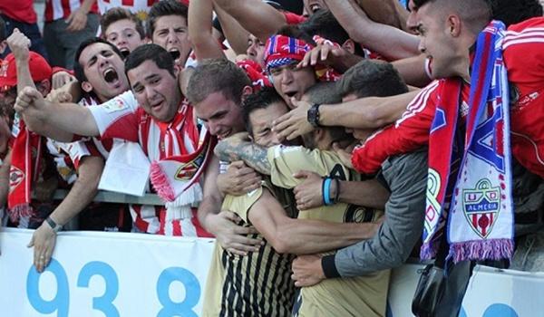 El Almería ha puesto pie y medio en Primera División