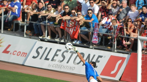 La UD Almería ha eliminado al equipo canario en el camino a Primera División