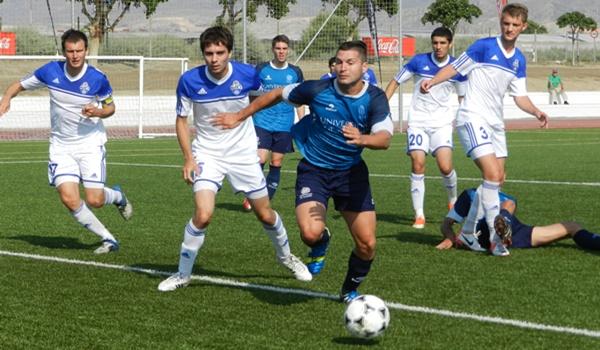 La Universidad de Almería jugará la final del Campeonato de Europa de Fútbol Universitario