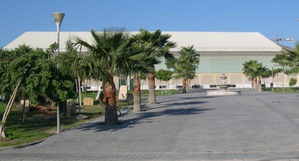 16.7.13.Pabellon de Deportes Huercal de Almeria