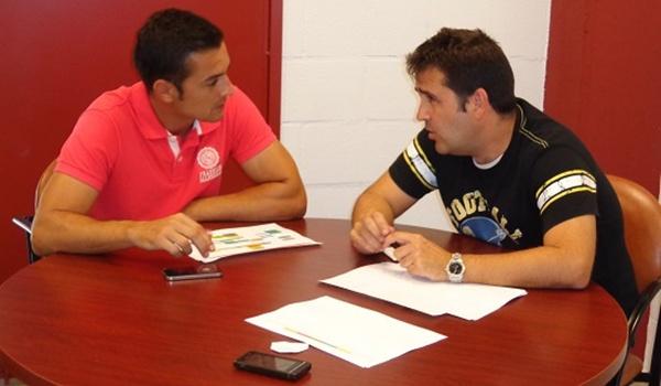 Francisco con Alberto Benito