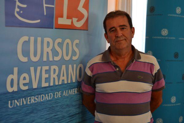 Ildefonso Barbero primer ponente curso vino Laujar