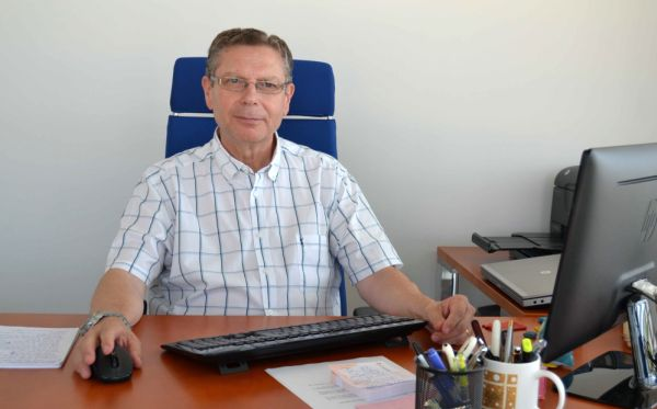 Javier de las Nieves vicerrector Investigación