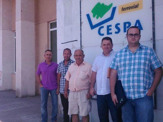 Reunión con CESPA 220713