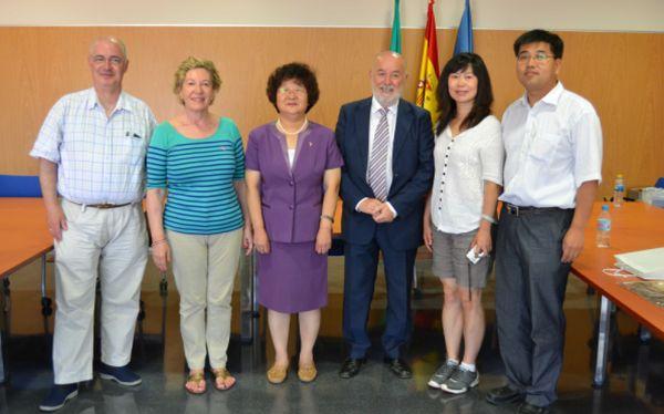 Visita delegación china Beijing