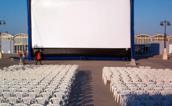 Terrazas de verano cine