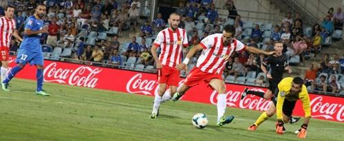 El Almería empata su segundo partido de la Liga BBVA